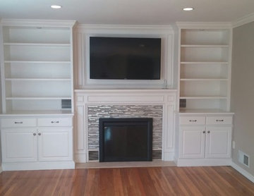 September 2015 Fireplace and Built In