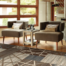 Contemporary Living Room by Shaw Floors