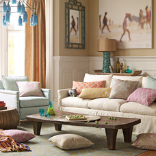 Traditional Living Room by Serena & Lily