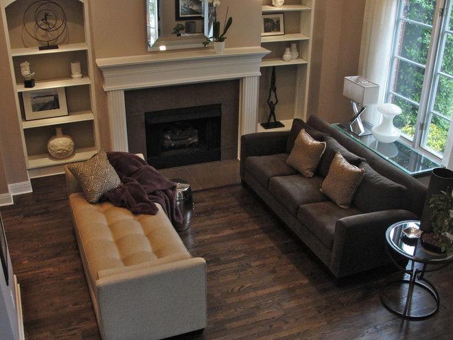 Contemporary Living Room by Rebekkah Davies Interiors + Design