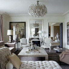 Transitional Living Room by 1stdibs