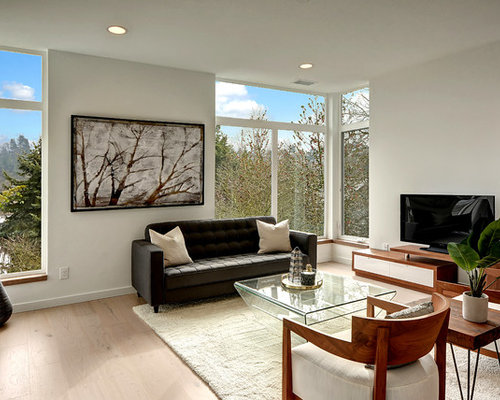 SaveEmail - Best Contemporary Living Room Design Ideas & Remodel Pictures Houzz