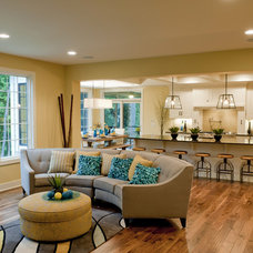 Traditional Living Room by Epique Homes