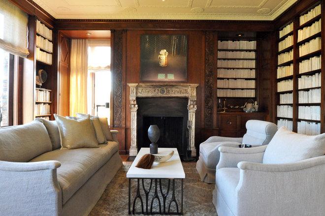 Contemporary Living Room SF Decorator Showcase 2014 | Library