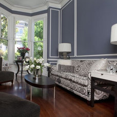 Eclectic Living Room by Faiella Design