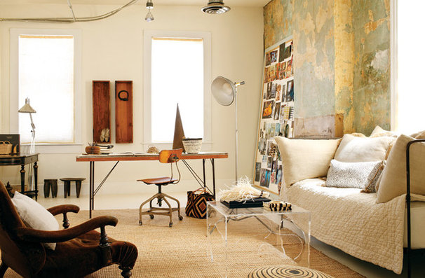 Eclectic Living Room shabby boho-chic