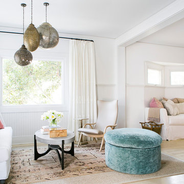 Shabby-chic Style Living Room