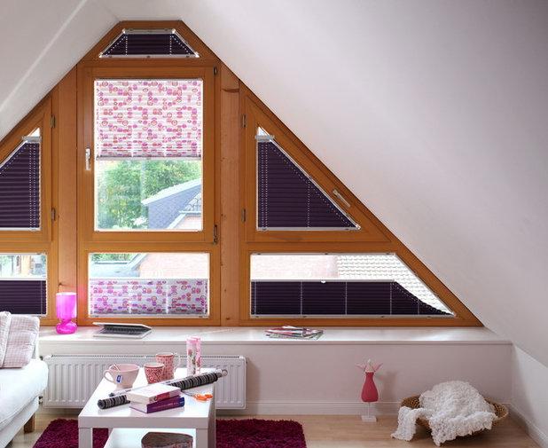 шторы на ломаные окна
