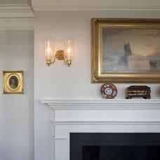 Traditional Living Room by Siemasko + Verbridge
