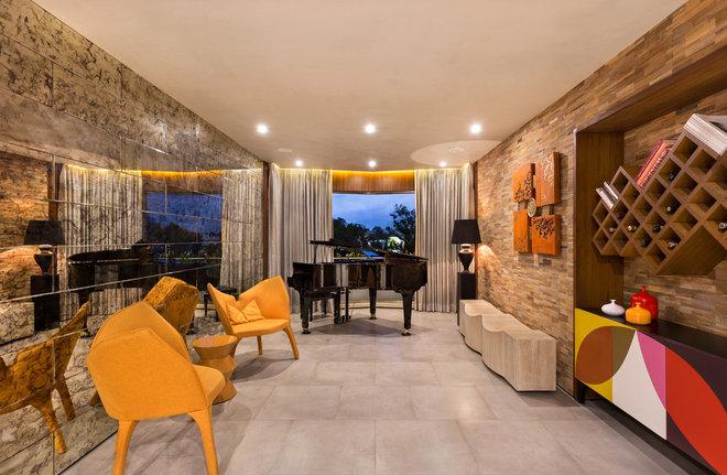Contemporary Family Room by Fadd Studio