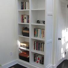 Contemporary Living Room by John Samuel Custom Cabinetry