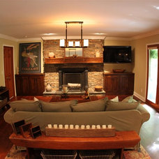 Traditional Living Room by Nathan Alan Design