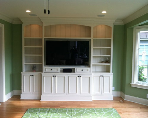 Shaker Style Living Room Design Ideas Remodels Photos