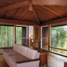 Modern Living Room Shapiro House, Louis Kahn