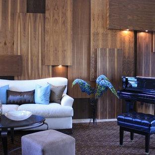 Interior Wall Panel Living Room Ideas & Photos | Houzz