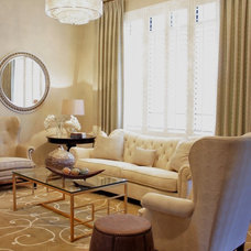 Traditional Living Room by IN Studio & Co. Interiors