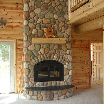 Sharkey Log Home