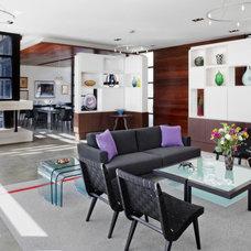 Modern Living Room by McKinney York Architects