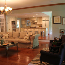 Eclectic Living Room by Shawna Feeley Interiors