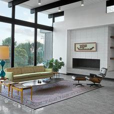 Modern Living Room by Nakhshab Development and Design