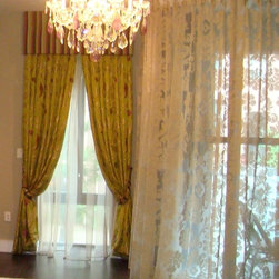 SHEER FABRICS - Window Treatments made by Thundersley home Essentials Sheers by Designer Guild Fabrics can be purchased from us, please call or email us