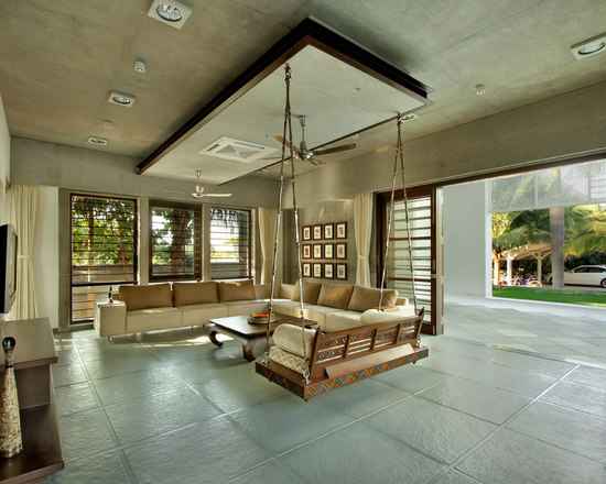205 Wooden Swing Living Room Design PhotosWooden Swing Living Room Design Ideas  Remodels   Photos   Houzz. Living Room Swing. Home Design Ideas