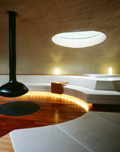 コンテンポラリー リビング・居間 by Kotaro Ide / ARTechnic architects