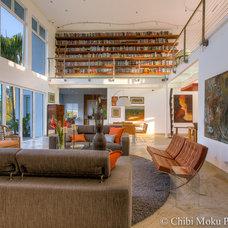 Modern Living Room by Chibi Moku - Architectural Cinema - Photo - 360
