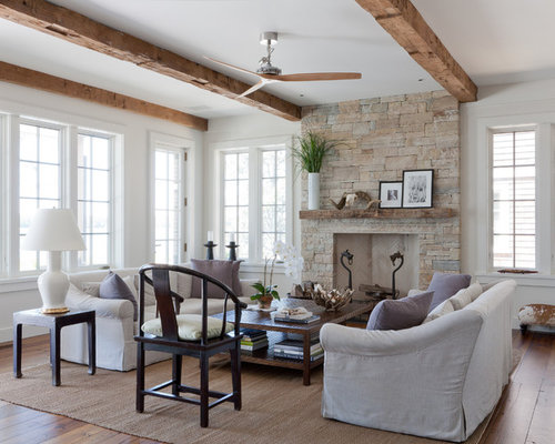 Beach Style Living Room Ideas & Design Photos | Houzz