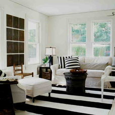eclectic living room by SchappacherWhite Architecture D.P.C.
