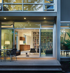modern living room by Sheri Olson Architecture PLLC