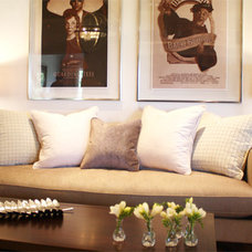 Contemporary Living Room by Meade Design Group
