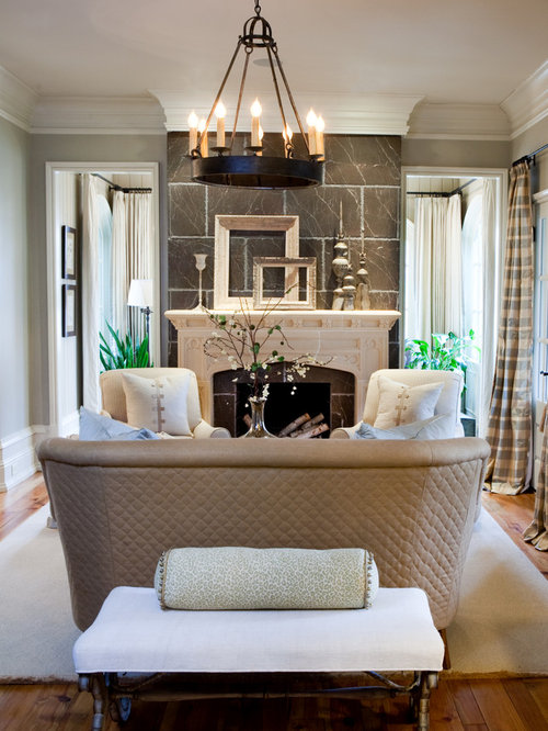 Decorate small living room houzz for Houzz small living rooms