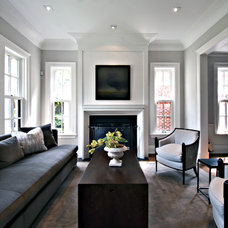 Traditional Living Room by Sherwood Custom Homes