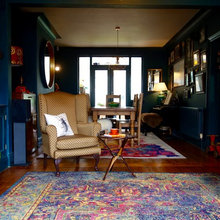 Room of the Day: Rich Color Provides the Backdrop for a Collected Look