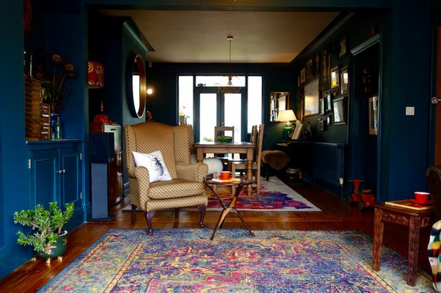 Eclectic Living Room by Making Spaces