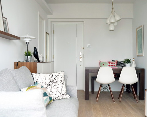 Small Apartment Living Room Design Houzz With