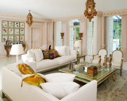 traditional living room by SHH - Spence, Harris, Hogan Associates