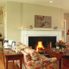 Traditional Living Room by Joseph Matto Architects, LLC