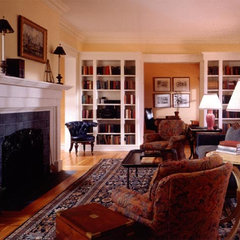 traditional living room by Gleicher Design Group