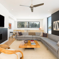 Modern Living Room by LABhaus