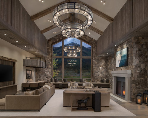 Open Concept Living Room Design Ideas Remodels Photos Houzz