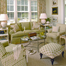 Traditional Living Room by The Kellogg Collection