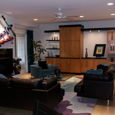 Contemporary Living Room by Storer Designs