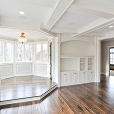 Traditional Living Room by Mark D. Williams Custom Homes Inc