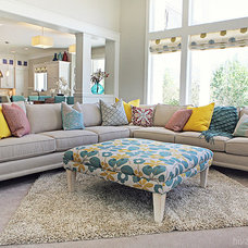 Eclectic Living Room by Four Chairs Furniture