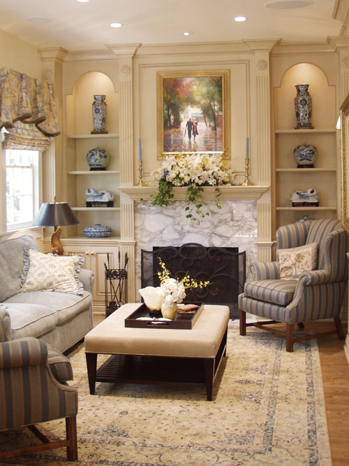 Inspiration For A Timeless Formal Living Room Remodel In Los Angeles