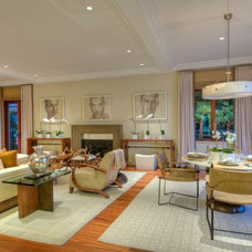 Contemporary Living Room by Kensington & Associates