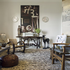 Eclectic Living Room by Matthew MacCaul Turner