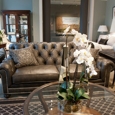 Traditional Living Room by Kerry Crosby, Ethan Allen Lexington